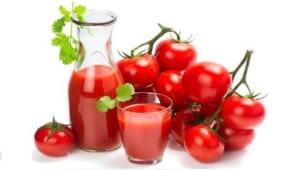 tẩy lông chân bằng cà chua