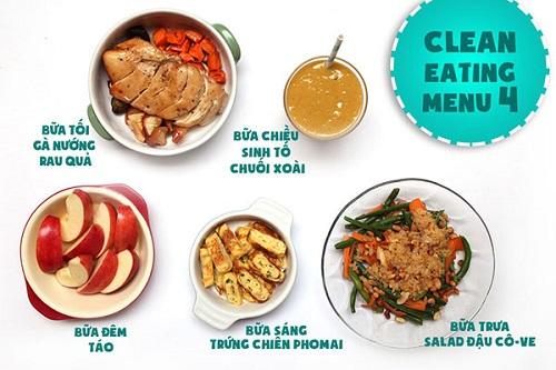 Eat clean là gì? Tại sao thực đơn giảm cân Eat clean lại hót như vậy?