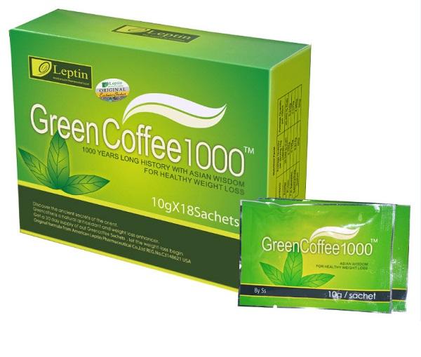trà giảm cân green coffee có tốt không