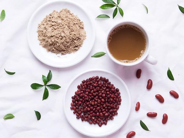 giảm cân bằng bột đậu đỏ
