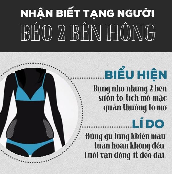 cách giảm béo bụng và hông