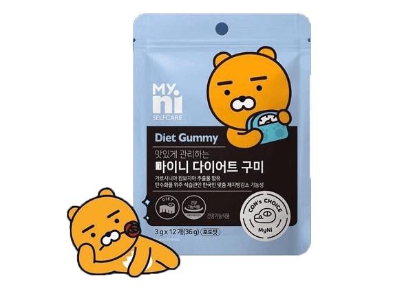 Kẹo giảm cân Diet Gummy Hàn Quốc có tốt không? Giá bao nhiêu? Mua ở đâu? Review chi tiết từ người dùng