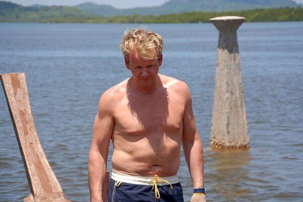 Gordon Ramsay trước khi giảm cân