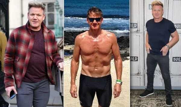 Gordon Ramsay giảm cân để xứng đôi với người vợ xinh đẹp