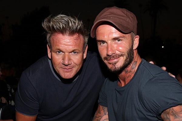 Gordon Ramsay và David Beckham