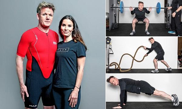 Quá trình Gordon Ramsay giảm cân có sự giúp đỡ rất lớn từ Tana, vợ anh