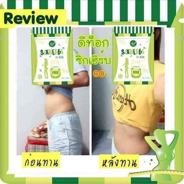 Review giảm cân nhanh chóng từ khách hàng sau khi sử dụng giảm cân detox Thái Lan
